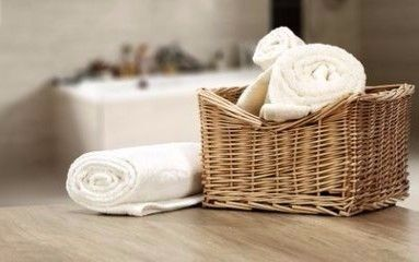 towels promo, links to towels category